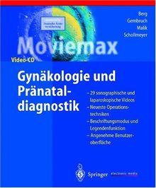 Moviemax Gynäkologie und Pränataldiagnostik, 1 CD-ROM 29 sonographische und laparoskopische Videos. Neueste Operationstechniken. Beschriftungsmodus und Legendenfunktion. Angenehme Benutzeroberfläche. Für Windows 95/98/NT u. MacOS 7.5