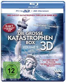 Die große Katastrophenbox 3D - Volume 2 - Boxset mit 3 3D Blu-rays: Das Ende der Welt, Ice Twister, Die neue Prophezeiung der Maya [3D Blu-ray + 2D Version]