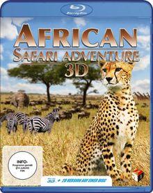 African Safari Adventure [3D Blu-ray]