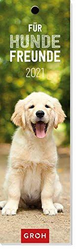 Für Hundefreunde 2021: Lesezeichenkalender