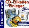 CD-Etiketten und Einleger