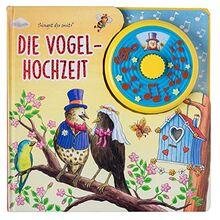 Die Vogelhochzeit - Spieluhrbuch - Interaktives Pappbilderbuch mit Spieluhr für Kinder ab 2 Jahren