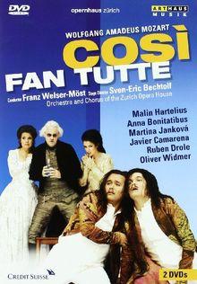 Mozart, Wolfgang Amadeus - Cosi fan tutte (NTSC) [2 DVDs]