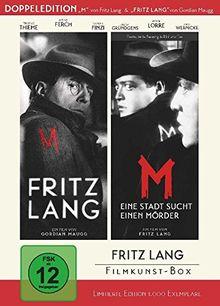 Fritz Lang Filmkunst-Box - (Double Feature: 'Fritz Lang' + 'M - Eine Stadt sucht einen Mörder') - bundesweit streng limitiert auf 1.000 Boxen! [Limited Edition] [2 DVDs]