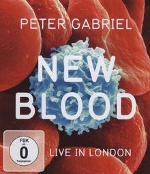Peter Gabriel - New Blood/Live in London [Blu-ray]