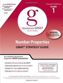 Number Properties GMAT Preparation Guide, 4th Edition (Manhattan GMAT Preparation Guide: Number Properties)