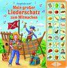 Mein großer Liederschatz zum Mitmachen - Hardcover-Buch - 27 Kinderlieder zum Mitsingen: 27-Button-Liederbuch
