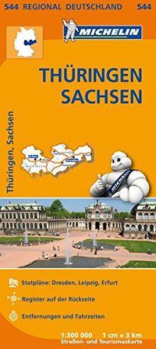 Thüringen, Sachsen (Regionalkarten)