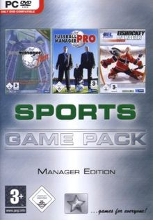Game Pack Sports: Manager Edition (DVD-ROM)