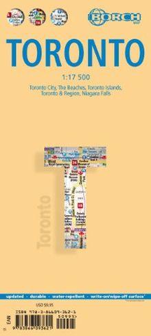 Toronto: 1:17 500. Einzelkarten: Toronto City 1:17 500, The Beaches 1:17 500, Toronto Islands 1:20 000, Toronto & Region 1:500 000, Niagara Falls 1:25 ... Canada administrative & time zones: BB.C566