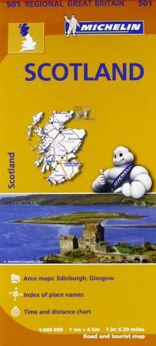 Scotland (Michelin Regional Maps)