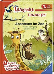 Abenteuer im Zoo (Leserabe - Lies dich fit)