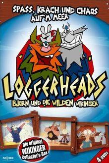 Loggerheads - Björn und die wilden Wikinger [4 DVDs]