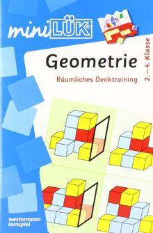 miniLÜK: Geometrie: Räumliches Denktraining für Klasse 2 bis 4