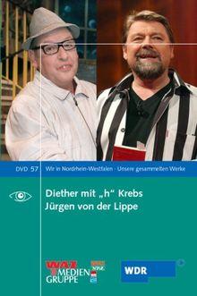 """Diether mit """"h"""" Krebs / Jürgen von der Lippe, DVD"""