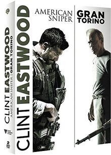 Coffret clint eastwood réalisateur 2 films : american sniper ; gran torino [FR Import]