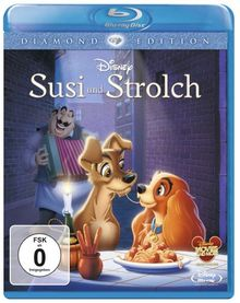 Susi und Strolch (Diamond Edition) [Blu-ray]