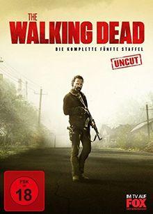 The Walking Dead - Die komplette fünfte Staffel - Uncut/Limitiert [5 DVDs]