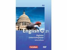 English G21 A6 Digitaler Unterrichtsplaner Lehrersoftware