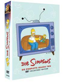 Die Simpsons - Die komplette Season 2 (Collector's Edition, 4 DVDs)