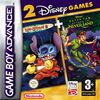 2 Games in 1 - Peter Pan + Lilo & Stitch 2