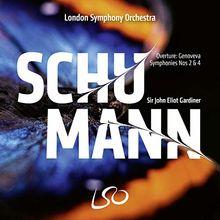 Schumann: Sinfonien Nr. 2 & 4 / Overtüre Genoveva