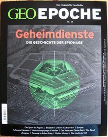 GEO Epoche 67/2014 - Geheimdienste