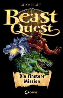 Beast Quest: Die finstere Mission. Sammelband (inkl. Band 1 als Hörbuch)