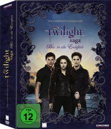 Die Twilight Saga - The Complete Collection: Biss in alle Ewigkeit (11 Discs)
