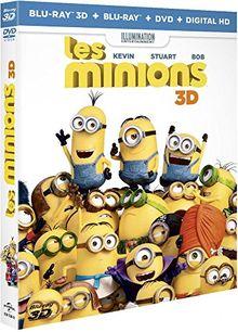 SANDRA BULLOCKX - Les Minions (3 Blu-ray)