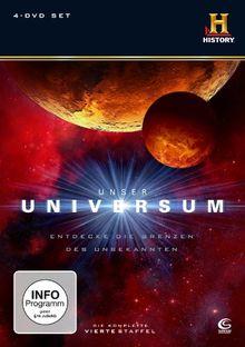 Unser Universum - Staffel 4 (History) (4 DVDs)