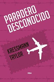 PARADERO DESCONOCIDO (FICCIÓN GENERAL)