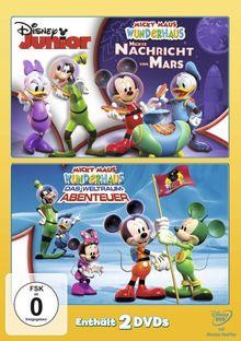 Micky Maus Wunderhaus - Mickys Nachricht vom Mars / Das Weltraum Abenteuer [2 DVDs]
