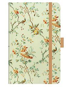"""Premium Timer Small """"Blütenfantasie"""" 2021: Buchkalender - Terminplaner mit hochwertiger Folienveredelung und Prägung. 9 x 14 cm"""