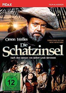 Die Schatzinsel - Remastered Edition (neue Abtastung) / Romangetreue Verfilmung nach Robert Louis Stevenson mit Weltstar Orson Welles (Pidax Film-Klassiker)