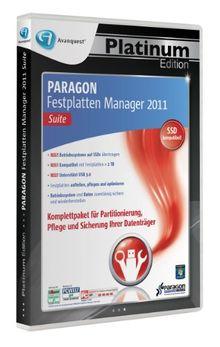 Paragon Festplatten Manager 2011 Suite - Avanquest Platinum Edition