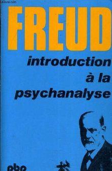 Couverture de Introduction à la psychanalyse
