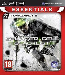 Splinter Cell : Blacklist - essentials [Französisch Import] (Deutsch-Spiel)