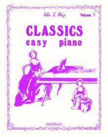Partition: Classics vol. 5 easy piano