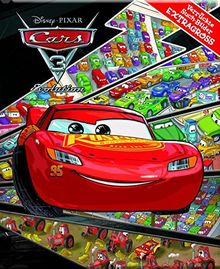 Cars 3 - Disney·Pixar - Verrückte Such-Bilder extragroß - Hardcover-Wimmelbuch für Kinder ab 3 Jahren im XXL Format