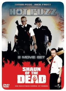 Hot Fuzz / Shaun of the Dead (im Steelbook) [Limited Edition] [2 DVDs]
