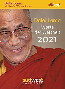 Dalai Lama - Worte der Weisheit 2021 Tagesabreißkalender