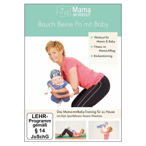 mamaworkout bauch beine po mit baby mit tipps u bungen f r den r cken von der dt. Black Bedroom Furniture Sets. Home Design Ideas