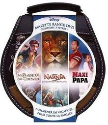 Coffret range DVD, vol. 2 : la planète au trésor ; le monde de narnia 1 ; maxi papa