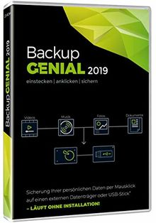 Backup Genial 2019|2019|unbegrenzt|unbegrenzt|PC, Laptop|Disc|Disc
