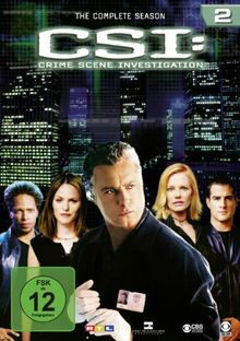 CSI: Crime Scene Investigation - Die komplette Season 2 [6 DVDs]