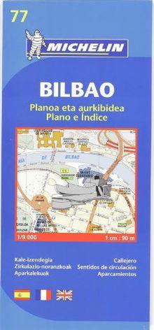 BILBAO-PLANO CON INDICE (Michelin City Plans)