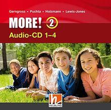 MORE! 2 Audio CD 1-4 NEU