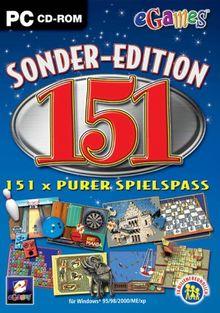 Sonder-Edition 151 - 151 x purer Spielspass