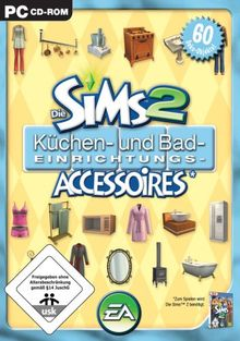 Die Sims 2 - Küchen- und Bad-Einrichtungs-Accessoires (Add-On)